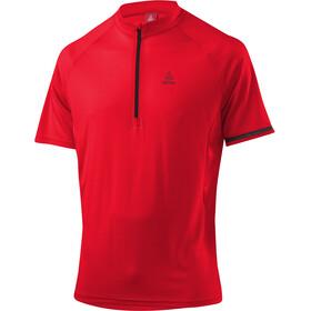 Löffler Vienna Fietsshirt korte mouwen Heren rood
